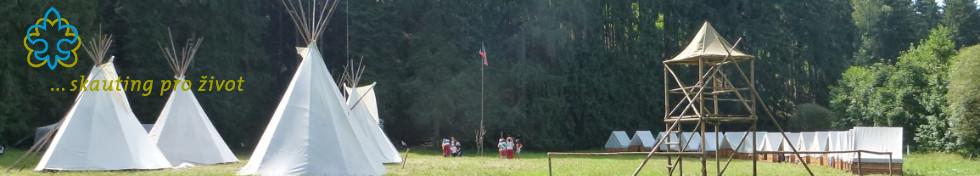 Tábor 2012 - Rozestavěný tábor